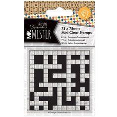 Transparentní razítko mini (1ks) - Mr. Mister - Křížovka ...