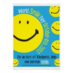 Happy World Smile Day! :-)