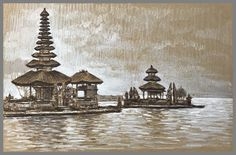Bali and Java captured on toned paper Children's Book Illustration, Book Illustrations, Travel Drawing, Toned Paper, Urban Sketchers, Angel Art, Prismacolor, Fine Art, Wallpaper