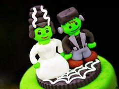 Frankensteins Halloween Wedding {How Cute!}
