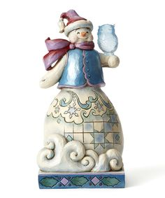 Take a look at this Jim Shore Winter Wonderland Snowman Figurine today!