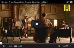 Best Instructional Videos: Rome, Second Punic War to Empire - http://www.educationworld.com/a_lesson/best-instructional-videos-rome-history-empire.shtml