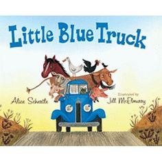 Little Blue Truck Big Book, HOU9780547482484