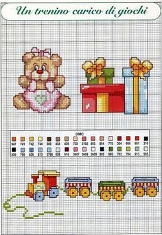 bambini orsetta doni trenino