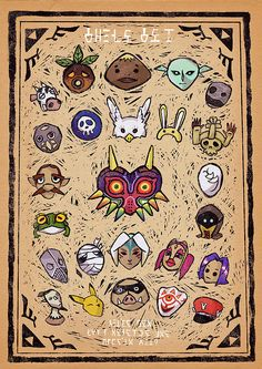 Majora's Masks by Faustice