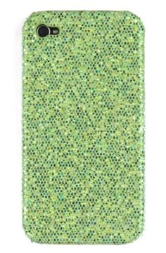 Green Sparkles Case for Apple iPhone 4, 4S (AT, Verizon, Sprint) by 24/7 Cases, http://www.amazon.com/dp/B0055S212C/ref=cm_sw_r_pi_dp_nlJbqb1XHDSPF