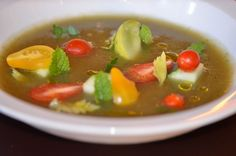 Cucumber Mint Soup Recipe | LUC | The Gourmet Review