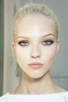 Style - Minimal + Classic: Sasha Luss at Atelier Versace fall 2013