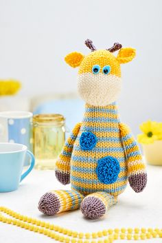 Harry giraffe pattern by Amanda Berry