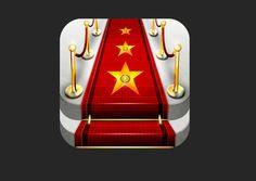 Celebrify Me iOS app icon by Tomas Marek, via Behance