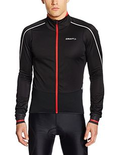 Craft Mens Storm Lightweight Warm Bike Jersey FluminoBlack Medium *** Read more  at the image link. (Note:Amazon affiliate link)