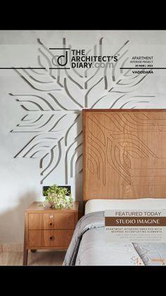 Bed Headboard Design, Room Design Bedroom, Bedroom Furniture Design, Modern Bedroom Design, Home Room Design, Contemporary Bedroom, Indian Bedroom Design, Bed Back Design, Smart Home Design