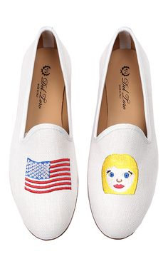 Women's M'O Exclusive #AmericanWoman slippers