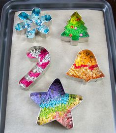 Cookie Cutter Melty Beads Ornaments-Step 6