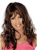 Black Long Curly With Bangs Full Lace 18 inch Beverly Johnson Wigs Best Human Hair Wigs, Remy Human Hair, Natural Hair Growth, Natural Hair Styles, 18 Inch Hair, Best Lace Wigs, Front Bangs, Beverly Johnson, Buy Wigs