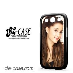Ariana Grande Smile DEAL-870 Samsung Phonecase Cover For Samsung Galaxy S3 / S3 Mini