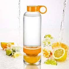 Citrus Zinger H2O bottle - I may have to get one.
