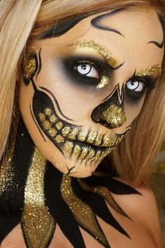 23 Skelett Make-up Ideen für Halloween 23 skeleton makeup ideas for Halloween Halloween Zombie Makeup, Halloween Inspo, Halloween Makeup Looks, Halloween 2018, Halloween Stuff, Halloween Costumes, Halloween Clown, Halloween Makeup Glitter, Skeleton Costumes