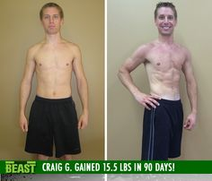 Craig G. gained 15.5