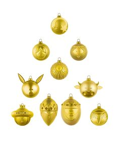 Trend: 10 new Christmas ornaments, an idea for everyone: Alessi, ornaments Le Palle Presepe | #christmas #decoration #home #design @alessiofficial