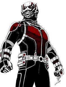 Ant-man by DaegStone on DeviantArt