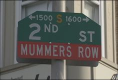 "2nd Street in South Philly, or ""Two Street"" as Philadelphians call it, is home to many of the Philadelphia Mummers' clubhouses."