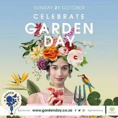 to all who supported Garden Day We can't wait for next year's celebrations. save the date for 21 October Save The Date, Waiting For Next Year, 21st October, Vintage Travel Posters, Special People, Film Posters, Cant Wait, Cape, Thankful