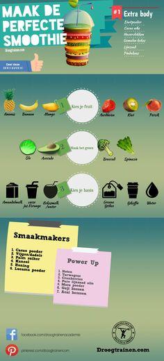 http://www.droogtrainen.com/past-power-smoothies-maken-jouw-voedingsplan/ Gezonde Smoothies