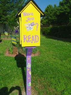 """Mary Barge. Oakwood, GA. Our Little Free Library is dedicated to the leader in all of us. We are a Leader in Me School who follows Stephen Covey's 7 Habits of Highly Effective Children. Readers Make Great Leaders and Reading is a great way to practice the Habit of """"Sharpening the Saw."""""""