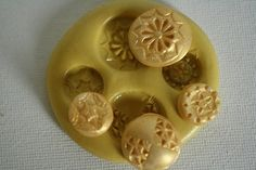Silicone  Buttons Mold for cake decorating, chocolate, hard candy, polymer clay, resin, wax, soap, silicone mould