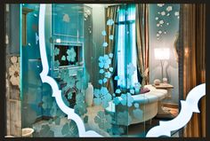 Glass for my master shower camere Hotel Chateau Monfort in Milan, FZI-interiors by Francesca Fezzi e Elisabetta Frazuoli , via Behance