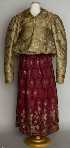 Two Women's Garments, Russia, Mid 19th C, Augusta Auctions, November 13, 2013 - NYC, Lot 404