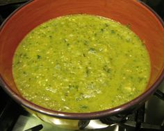 Roasted Tomatillo Sauce perfect for making 'green' chicken enchiladas, chilaquiles or huevos rancheros.