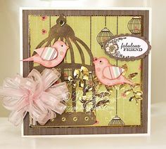 Image Detail for - EDITION BIRD CAGE CARD a Card Making project by rozpoz - Bird Cage ...