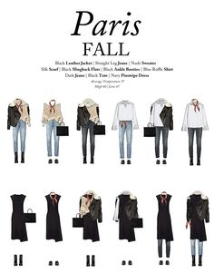 What To Wear To Paris In The Fall: A Capsule Wardrobe For Paris In The Fall how to dress like a french woman over 50 - Woman Dresses Paris Outfits, Fall Outfits, Fashion Outfits, Womens Fashion, Paris Spring Outfit, French Capsule Wardrobe, French Wardrobe Basics, Parisian Wardrobe, Fall Travel Wardrobe