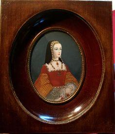 PORTRAIT MINIATURE de Anne de Bretagne