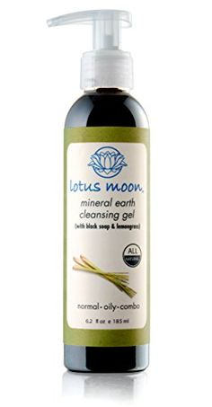 Lotus Moon Mineral Earth Cleansing Gel - Sulfate-free Black Soap facial wash Ideal for Oily and Acne Skin Types Lotus Moon http://www.amazon.com/dp/B00068A1LY/ref=cm_sw_r_pi_dp_L6gKub0YA2R16