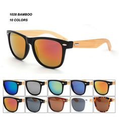 68ace1784208 Top Grade, Bamboo Products, Mirrored Sunglasses, Wooden Sunglasses, Mens  Sunglasses, Debs