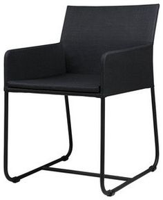ZUDU Dining Chair contemporary-outdoor-chairs