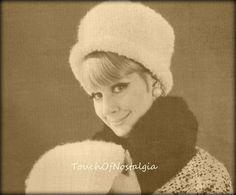 Crochet MUFF / hAT Set Vintage Crochet by touchofnostalgia7