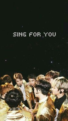 SING FOR YOU.