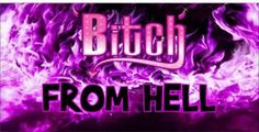 Bitch From Hell Photo License Plate License Plate Designs, Novelty License Plates, Neon Signs, Wallpaper, Car, Automobile, Wallpapers, Autos, Cars