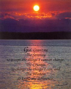 Serenity Prayer. Christian posters and prints.
