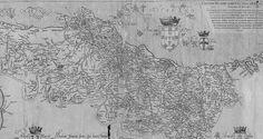 O mapa mais antigo de Portugal
