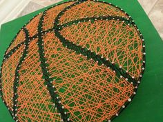 Made to Order String Art Sign Basketball Sign by BlossomingBurlap