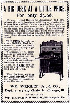 I can't imagine only paying $3.98 for a desk....wish prices were still this low