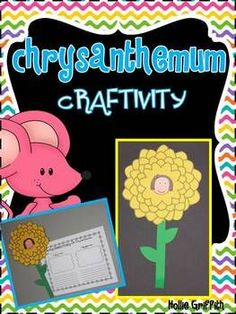 FREE Chrysanthemum Craftivity Chrysanthemum by Kevin Henkes is the perfect book for the first few weeks of school. I love using this story to guide my students as they learn to recognize and appreciate each other's unique qualities. It is also the perfec Name Activities, Reading Activities, Teaching Reading, Classroom Activities, Classroom Ideas, Reading Strategies, Future Classroom, 1st Day Of School, Beginning Of The School Year