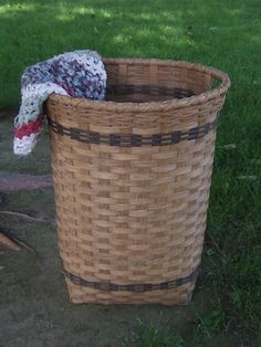 Tall Hamper Basket--There are some very nice baskets on this site.