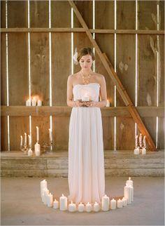 Elizabeth Messina wedding dress design for Ruche. Beautiful photo of the bride too.