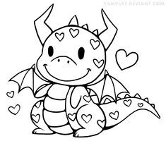 "Képtalálat a következőre: ""baby dragon coloring page"" Coloring Book Pages, Coloring Sheets, Dragon Coloring Page, Cute Dragons, Baby Dragon, Dragon Heart, Digi Stamps, Coloring Pages For Kids, Kids Coloring"